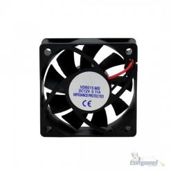 Cooler Micro Ventilador 60x60x15mm 12v